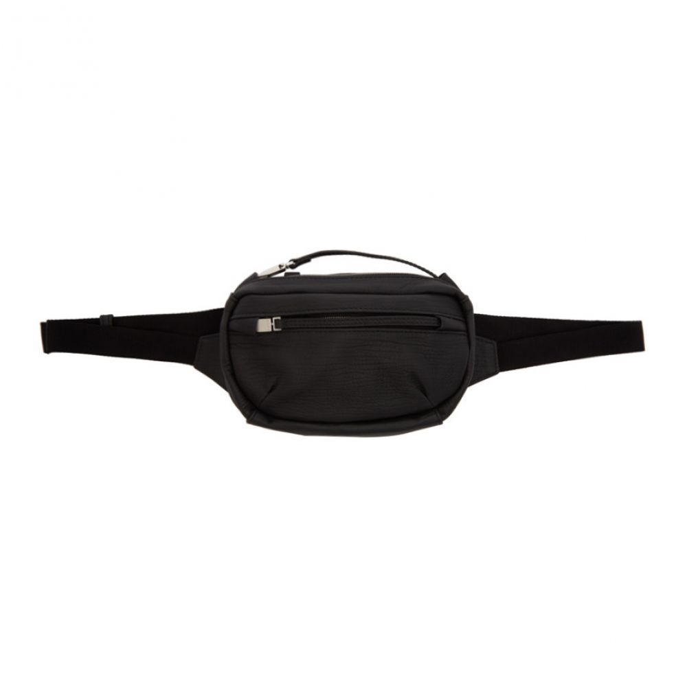 アリクス 1017 ALYX 9SM メンズ ボディバッグ・ウエストポーチ バッグ【Black Leather Small Waist Belt Bag】