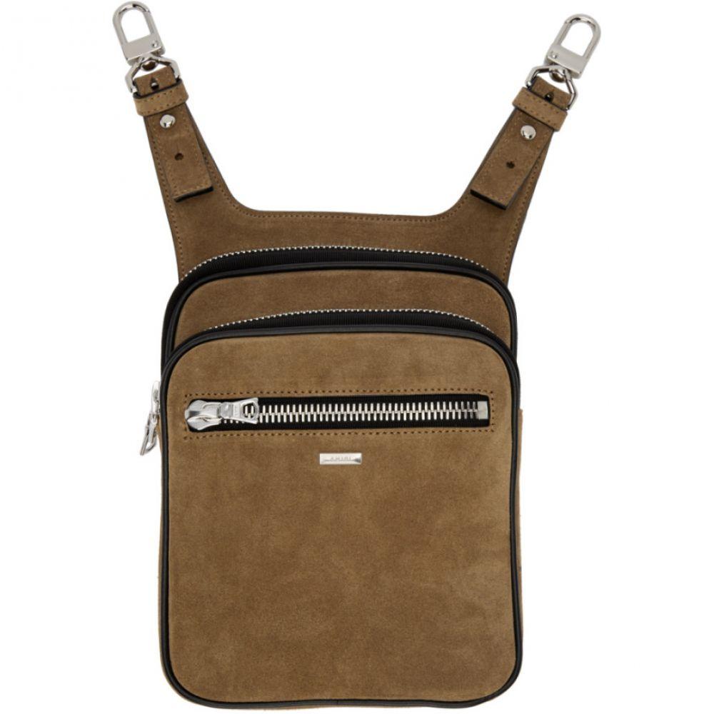 アミリ Amiri メンズ ボディバッグ・ウエストポーチ バッグ【Brown Hip Bag】