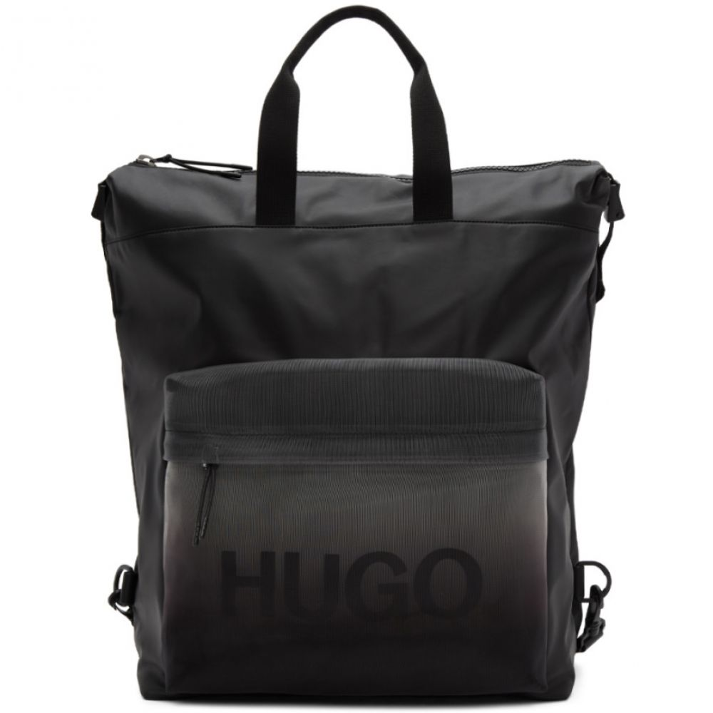 ヒューゴ ボス Hugo メンズ バックパック・リュック バッグ【Black Gradient Tote Backpack】