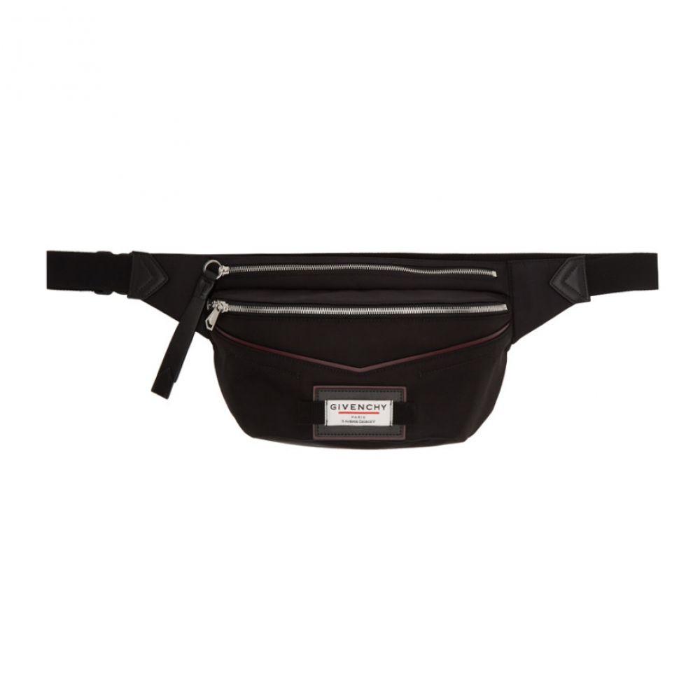 ジバンシー Givenchy メンズ ボディバッグ・ウエストポーチ バッグ【Black Downtown Belt Bag】