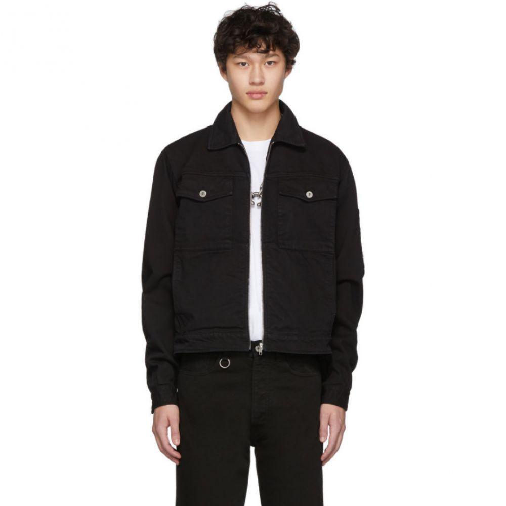 ランダム アイデンティティーズ Random Identities メンズ ジャケット Gジャン アウター【Black Denim Jacket】