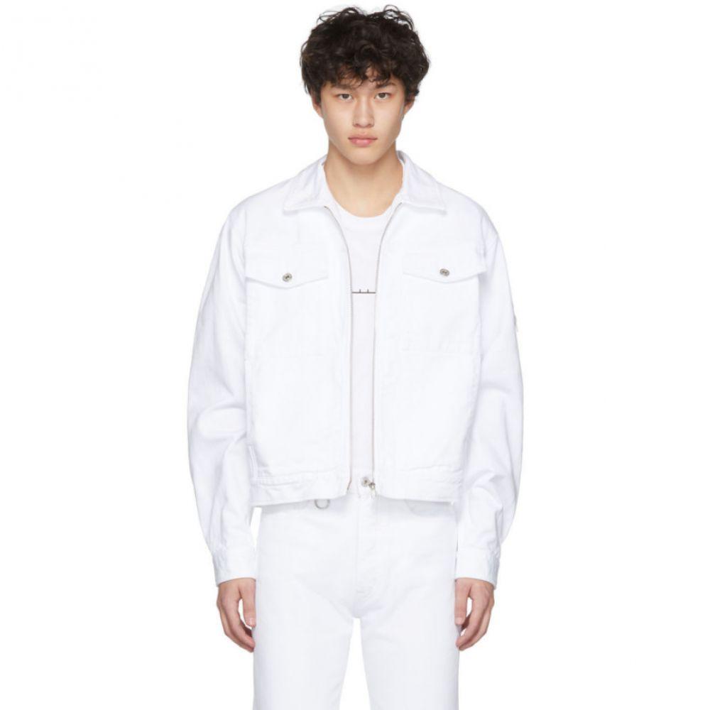 ランダム アイデンティティーズ Random Identities メンズ ジャケット Gジャン アウター【White Denim Jacket】
