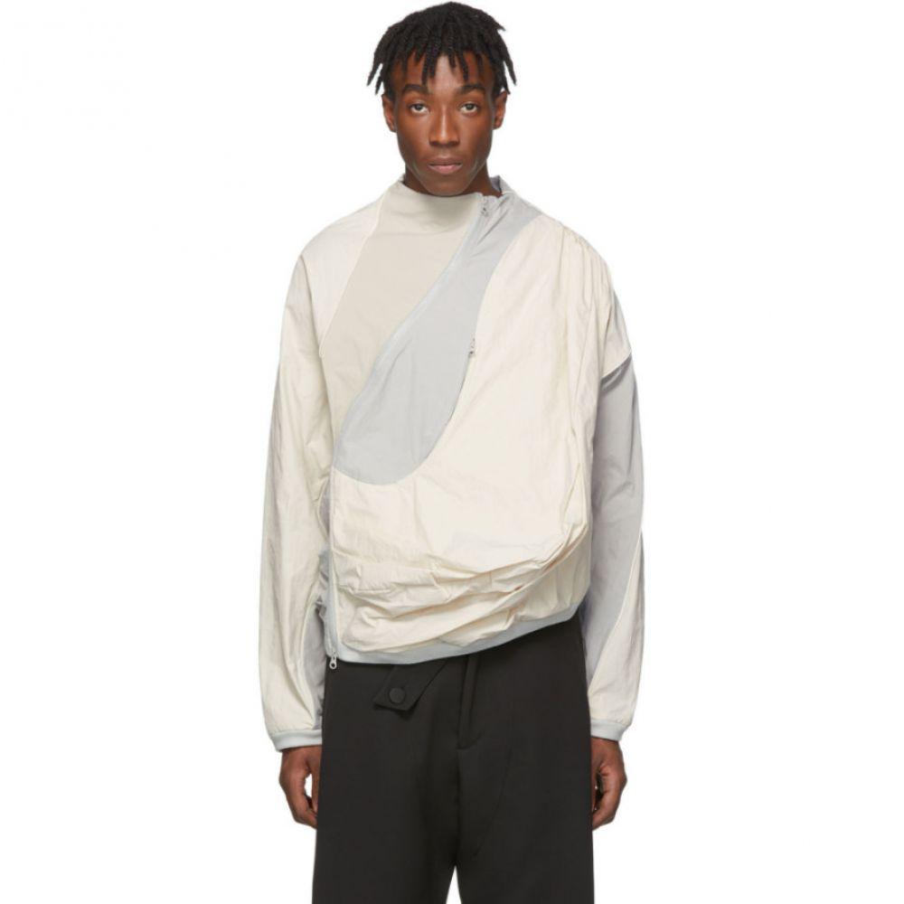 ポスト アーカイブ ファクション Post Archive Faction (PAF) メンズ ジャケット アウター【Off-White & Grey 2.0 Center Jacket】