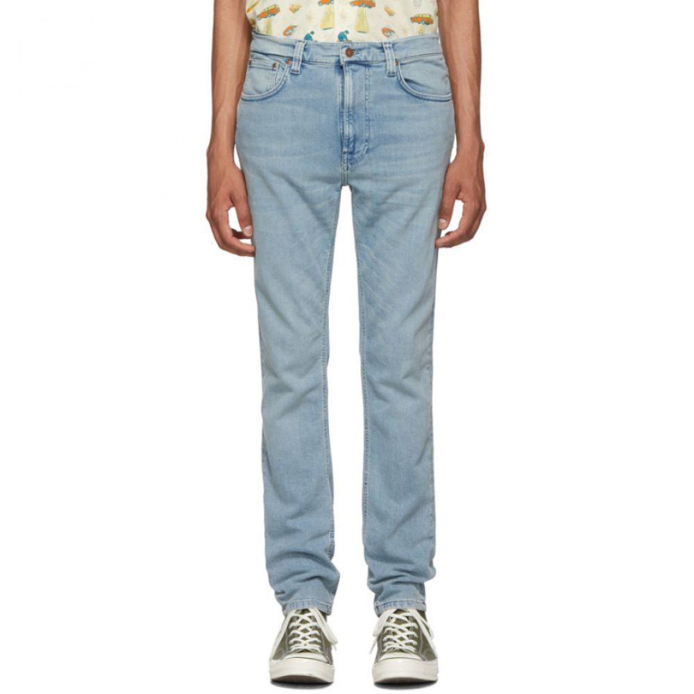 ヌーディージーンズ Nudie Jeans メンズ ジーンズ・デニム ボトムス・パンツ【Indigo Broken Lean Dean Jeans】