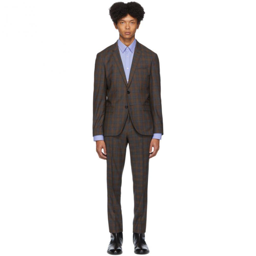 ヒューゴ ボス Hugo メンズ スーツ・ジャケット アウター【Beige Arti/Hesten 193 Check Suit】