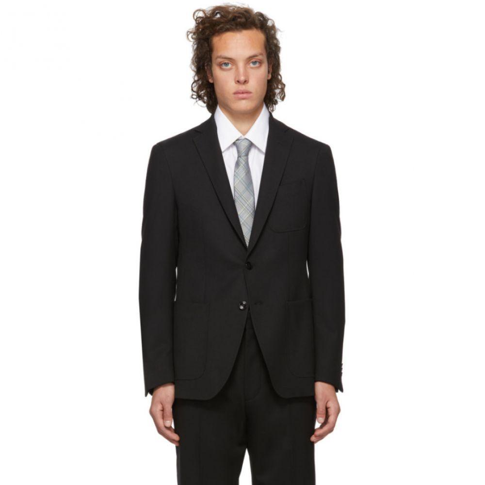 ヒューゴ ボス Boss メンズ スーツ・ジャケット アウター【Black Twill Raye Blazer】