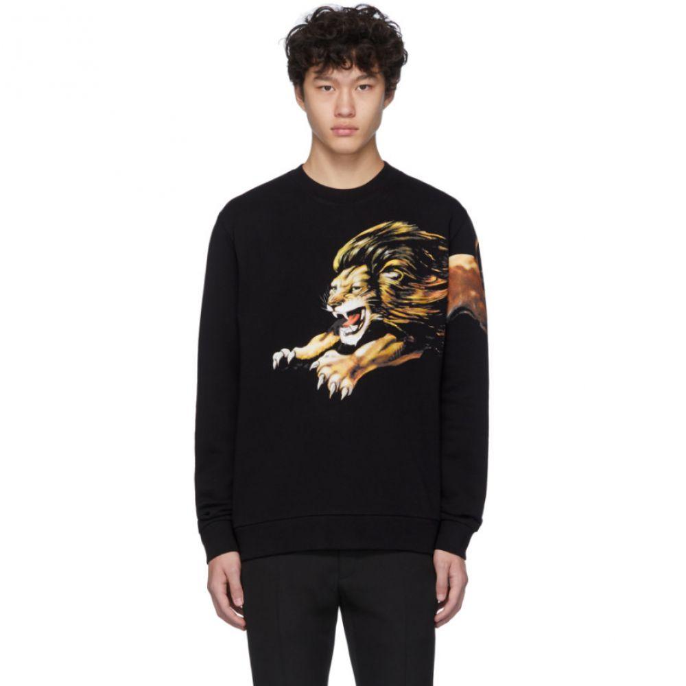 ジバンシー Givenchy メンズ スウェット・トレーナー トップス【Black Leo Sweatshirt】