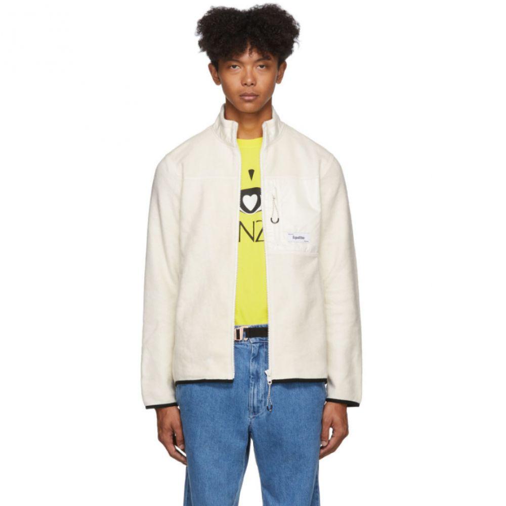 ケンゾー Kenzo メンズ ジャケット アウター【Off-White Polar Tech Jacket】