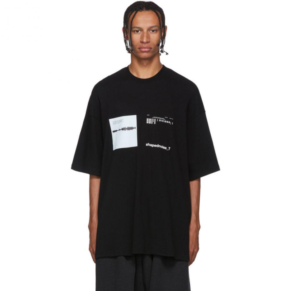 ユリウス Julius メンズ Tシャツ トップス【Black Mesh T-Shirt】