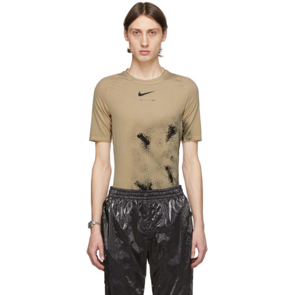 アリクス 1017 ALYX 9SM メンズ Tシャツ トップス【Beige Nike Edition Treated Short Sleeve T-Shirt】