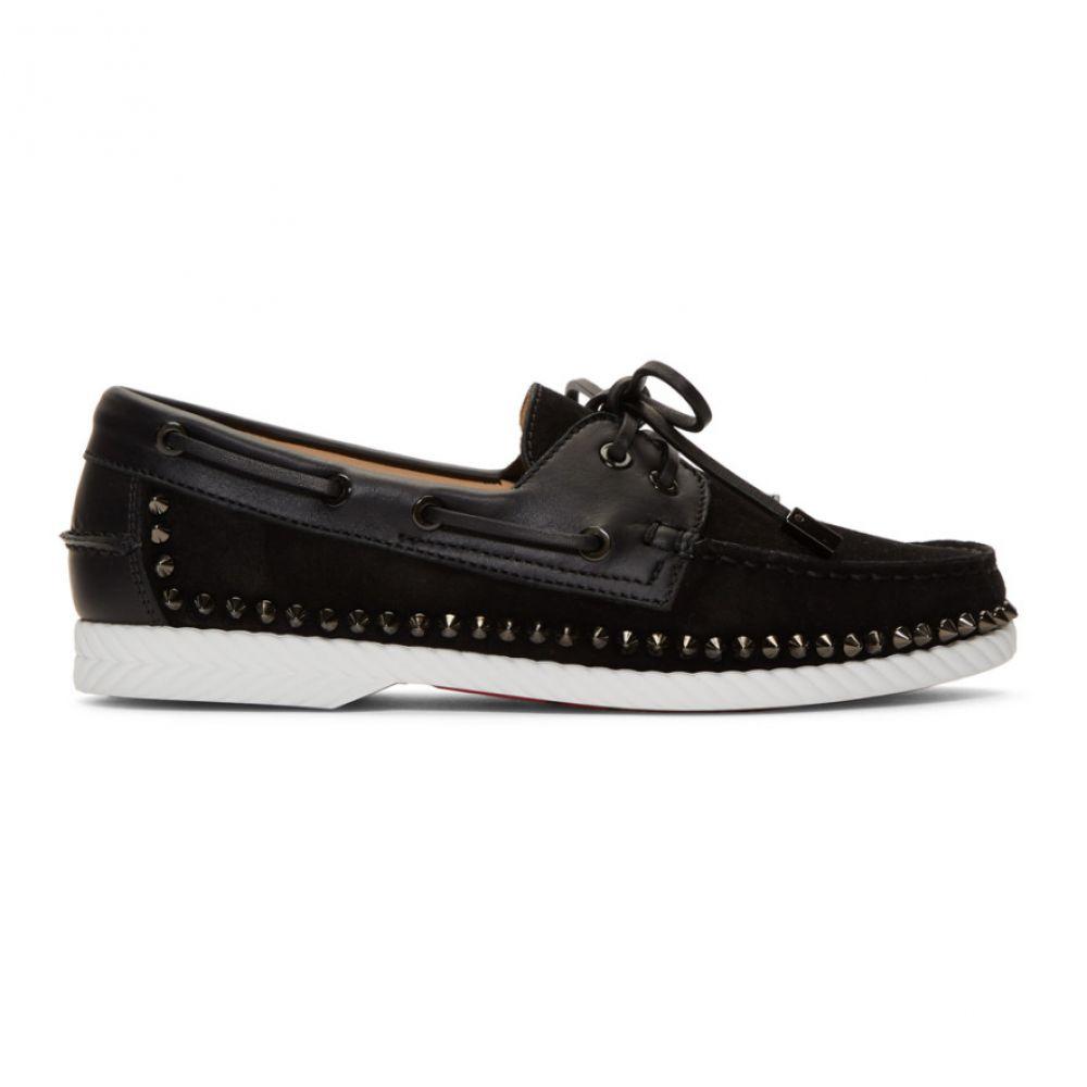 クリスチャン ルブタン Christian Louboutin メンズ ローファー シューズ・靴【Black Steckel Loafers】