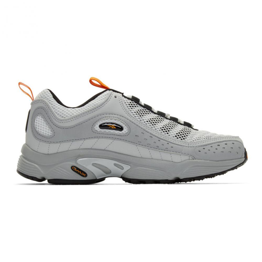 リーボック Reebok Classics メンズ スニーカー シューズ・靴【Grey Daytona DMX II Sneakers】