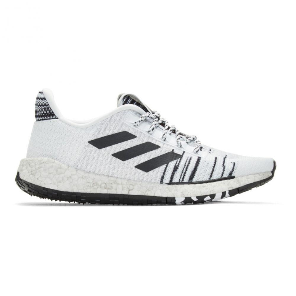 アディダス adidas x Missoni メンズ スニーカー シューズ・靴【White & Black PulseBOOST HD Sneakers】