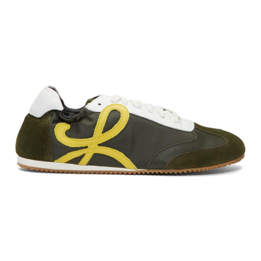 ロエベ Loewe メンズ スニーカー シューズ・靴【Green Ballet Runner Sneakers】