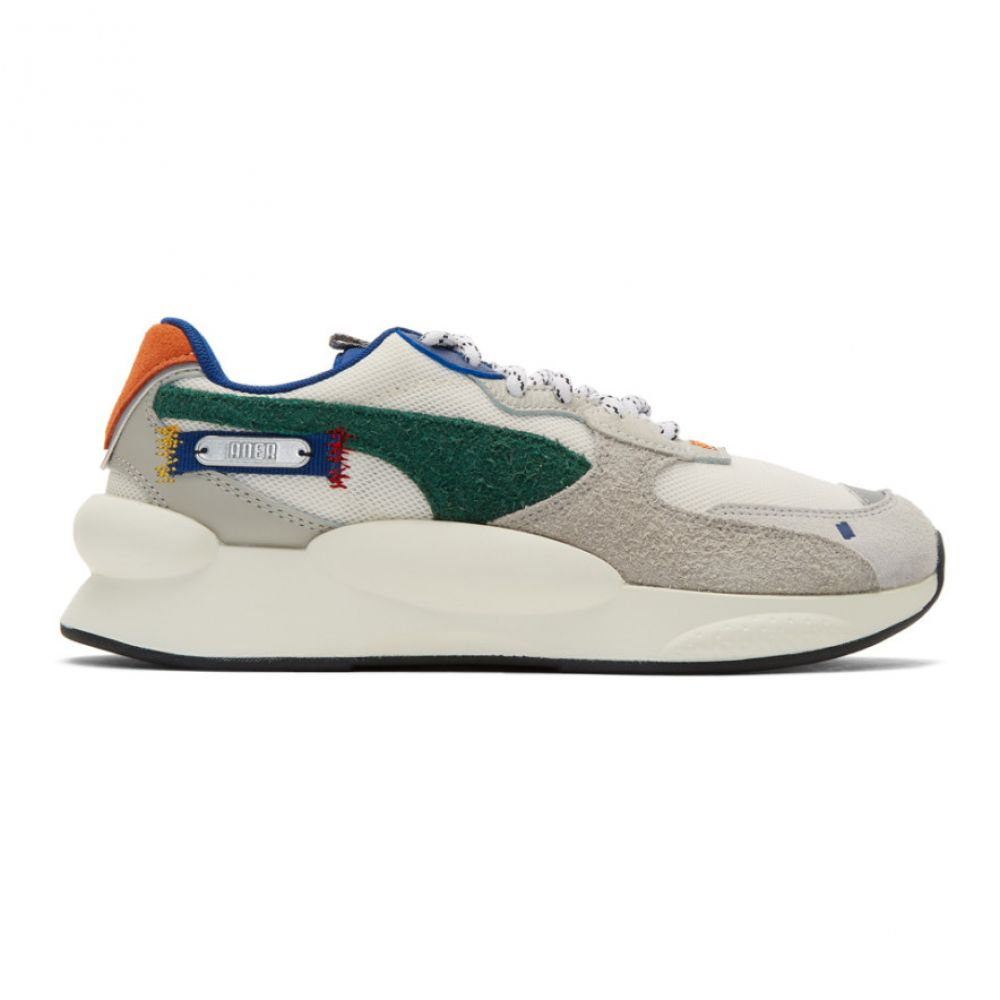 アーダーエラー ADER error レディース スニーカー シューズ・靴【White & Multicolor Puma Edition 9.8 Sneakers】Whisper