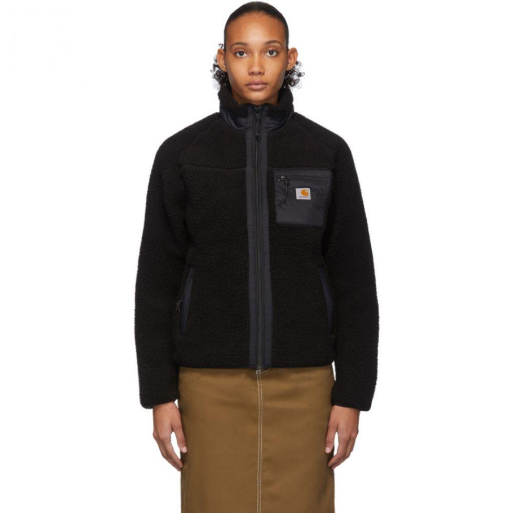 カーハート Carhartt Work In Progress レディース ジャケット アウター【Black Prentis Liner Jacket】Black