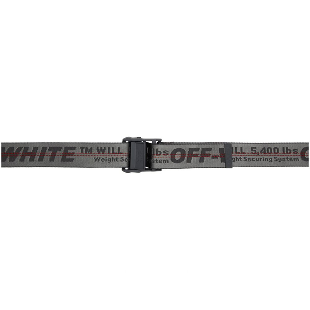 オフホワイト Off-White レディース ベルト 【Grey Classic Industrial Belt】Grey