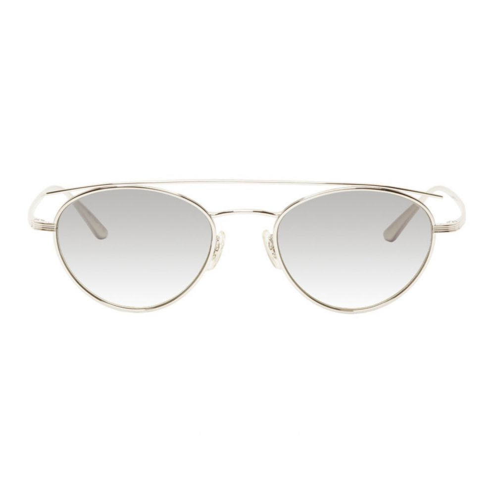 オリバーピープルズ Oliver Peoples The Row メンズ メガネ・サングラス 【Silver Hightree Sunglasses】Silver/Grey