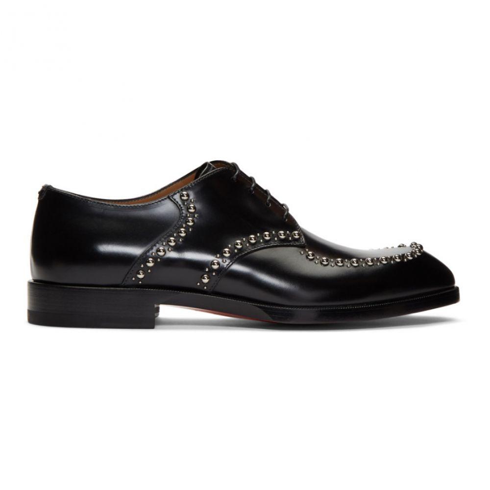 クリスチャン ルブタン Christian Louboutin メンズ 革靴・ビジネスシューズ シューズ・靴【Black What A Man Derbys】Black