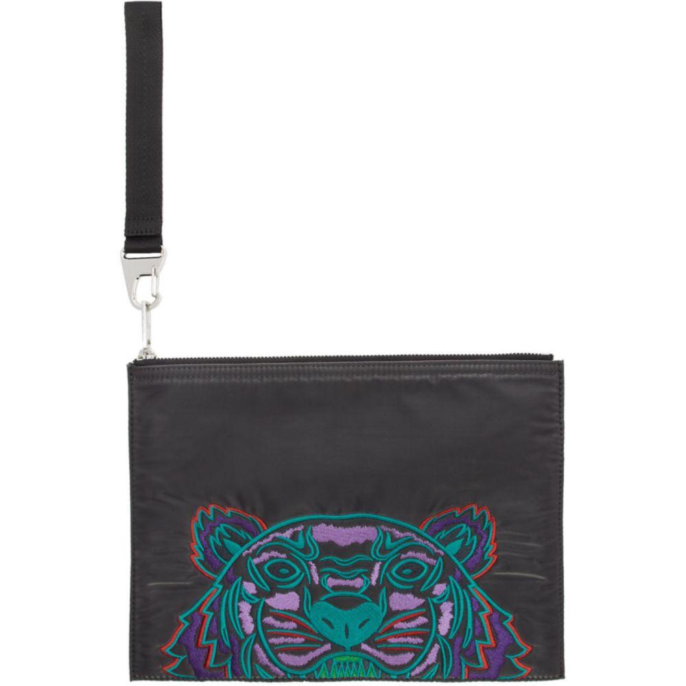 ケンゾー Kenzo メンズ バッグ 【Grey Limited Edition Holiday Kampus Tiger Pouch】Anthracite
