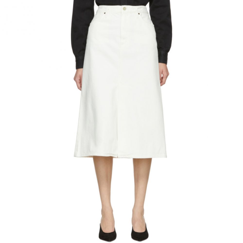 ゴールドサイン レディース スカート その他スカート 【サイズ交換無料】 ゴールドサイン Goldsign レディース スカート 【White 'The A' Skirt】