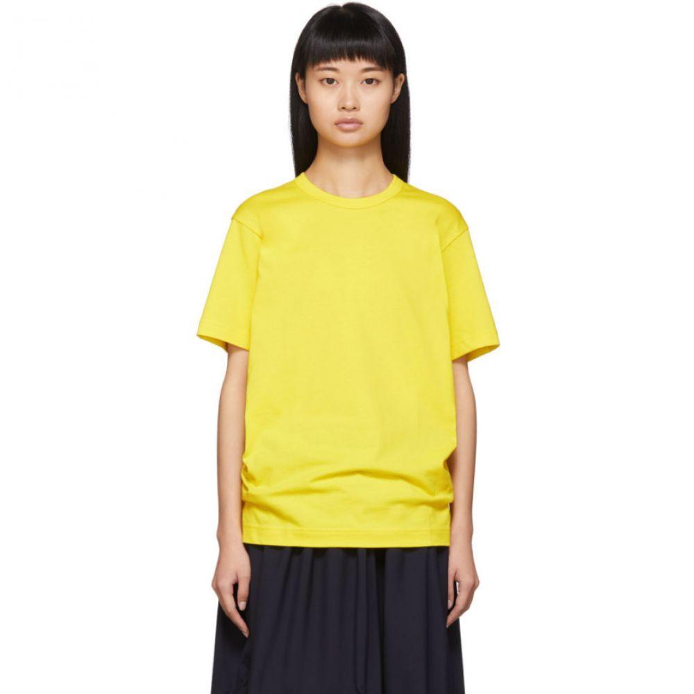 コム デ ギャルソン Comme des Garcons Shirt レディース Tシャツ トップス【Yellow Back Logo T-Shirt】Yellow
