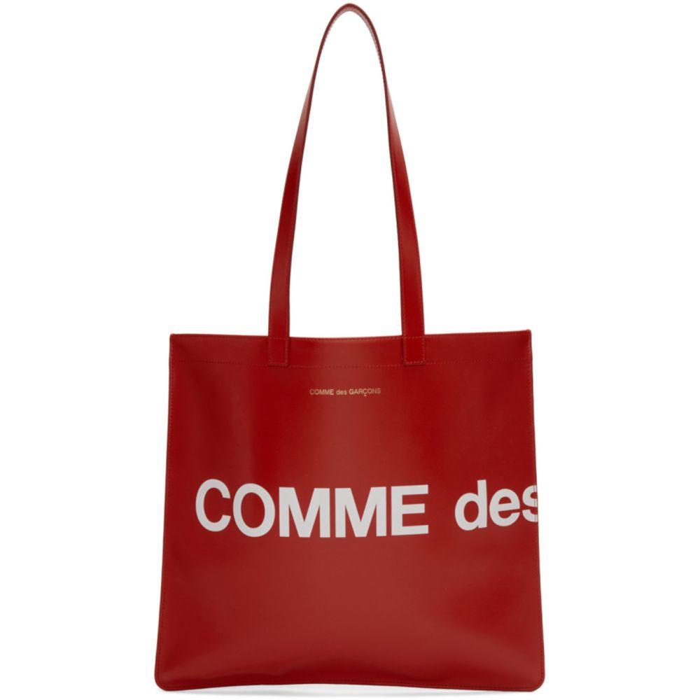 コム デ ギャルソン Comme des Garcons Wallets メンズ トートバッグ バッグ【Red Huge Logo Tote】Red