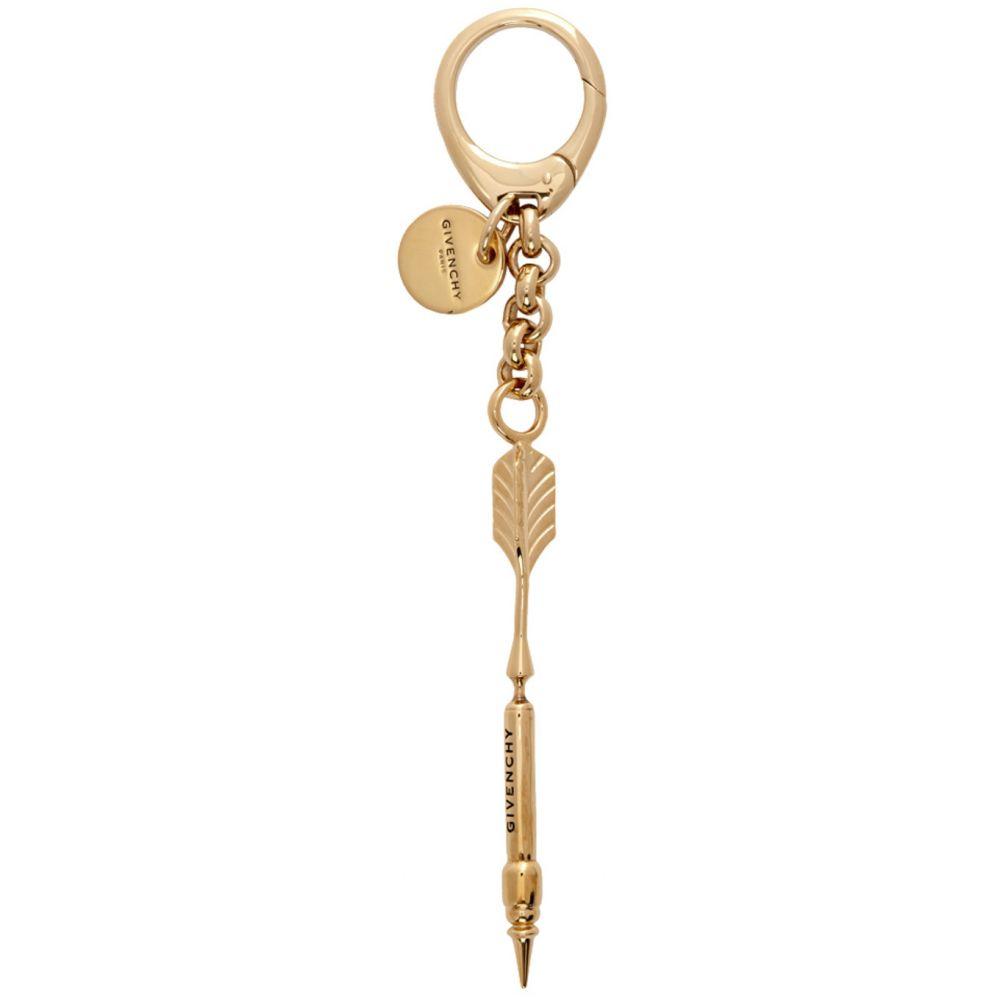 ジバンシー Givenchy メンズ キーホルダー キーチェーン【Gold Arrow Charm Keychain】Gold
