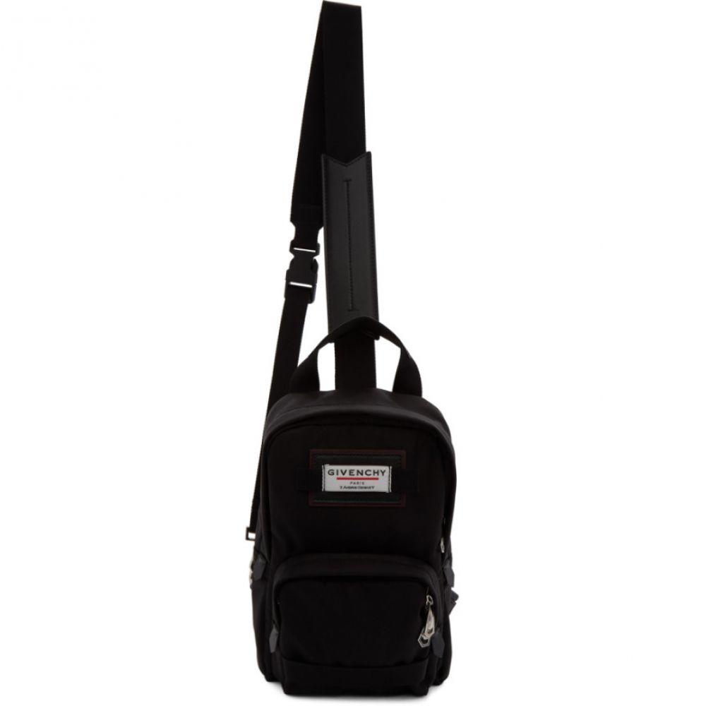 ジバンシー Givenchy メンズ ショルダーバッグ バッグ【Black Downtown Sling Bag】Black