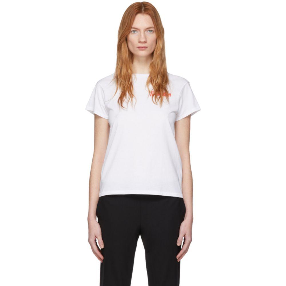 シックススリーナインセブン 6397 レディース Tシャツ トップス【White 'Revolution' Boy T-Shirt】New white
