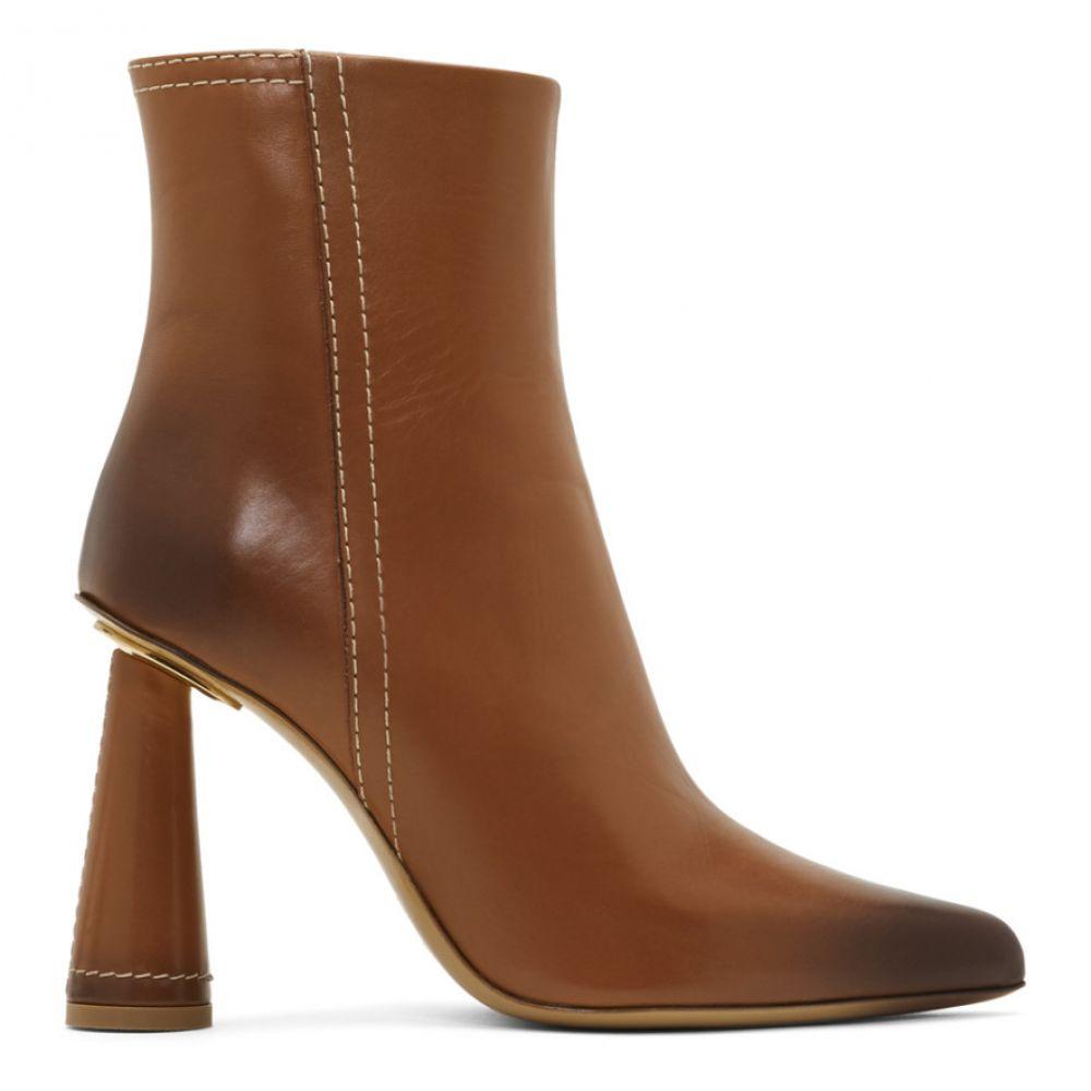 ジャックムス Jacquemus レディース ブーツ シューズ・靴【Tan 'Les Bottes Toula' Boots】Camel
