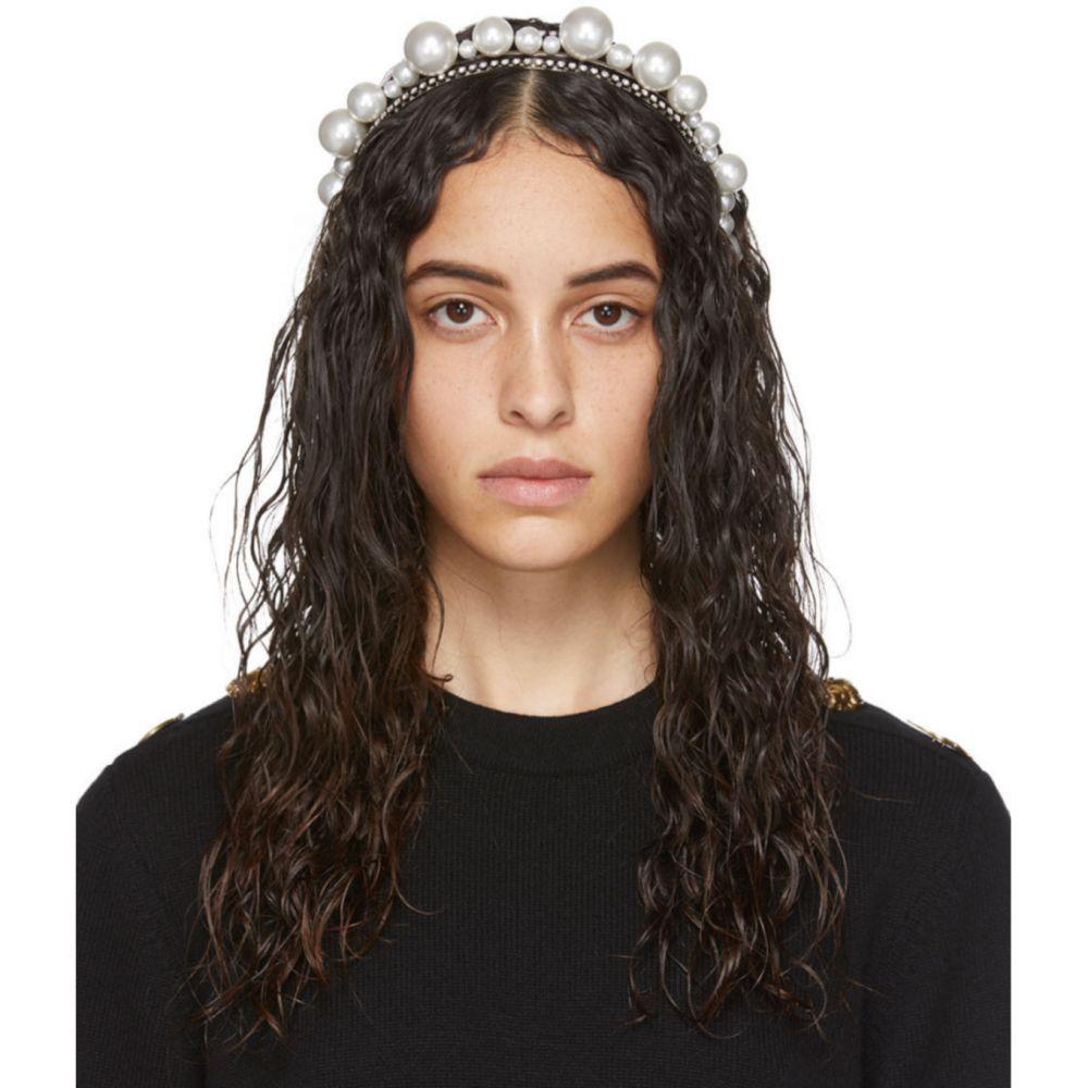 ジバンシー Givenchy レディース ヘアアクセサリー ヘッドバンド【Silver Ariana Headband】Silver