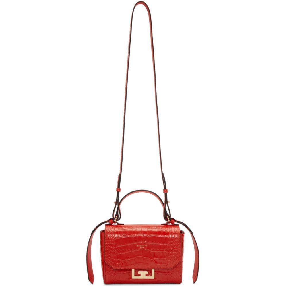 ジバンシー Givenchy レディース ショルダーバッグ バッグ【Red Mini Croc Eden Bag】Red