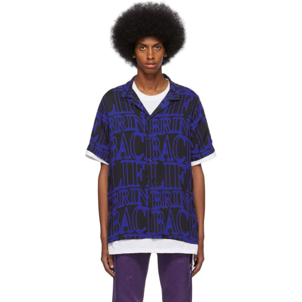 スビ Ksubi メンズ シャツ トップス【Black & Blue Bring Back Neon Twill Shirt】Assorted