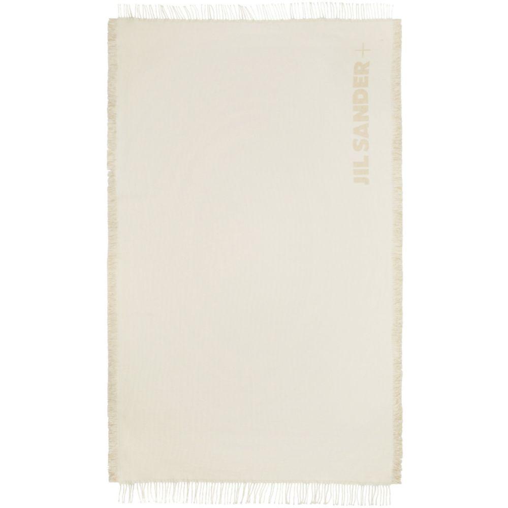 ジル サンダー Jil Sander レディース ビーチタオル 水着・ビーチウェア【Off-White ' +' Beach Blanket】Bone