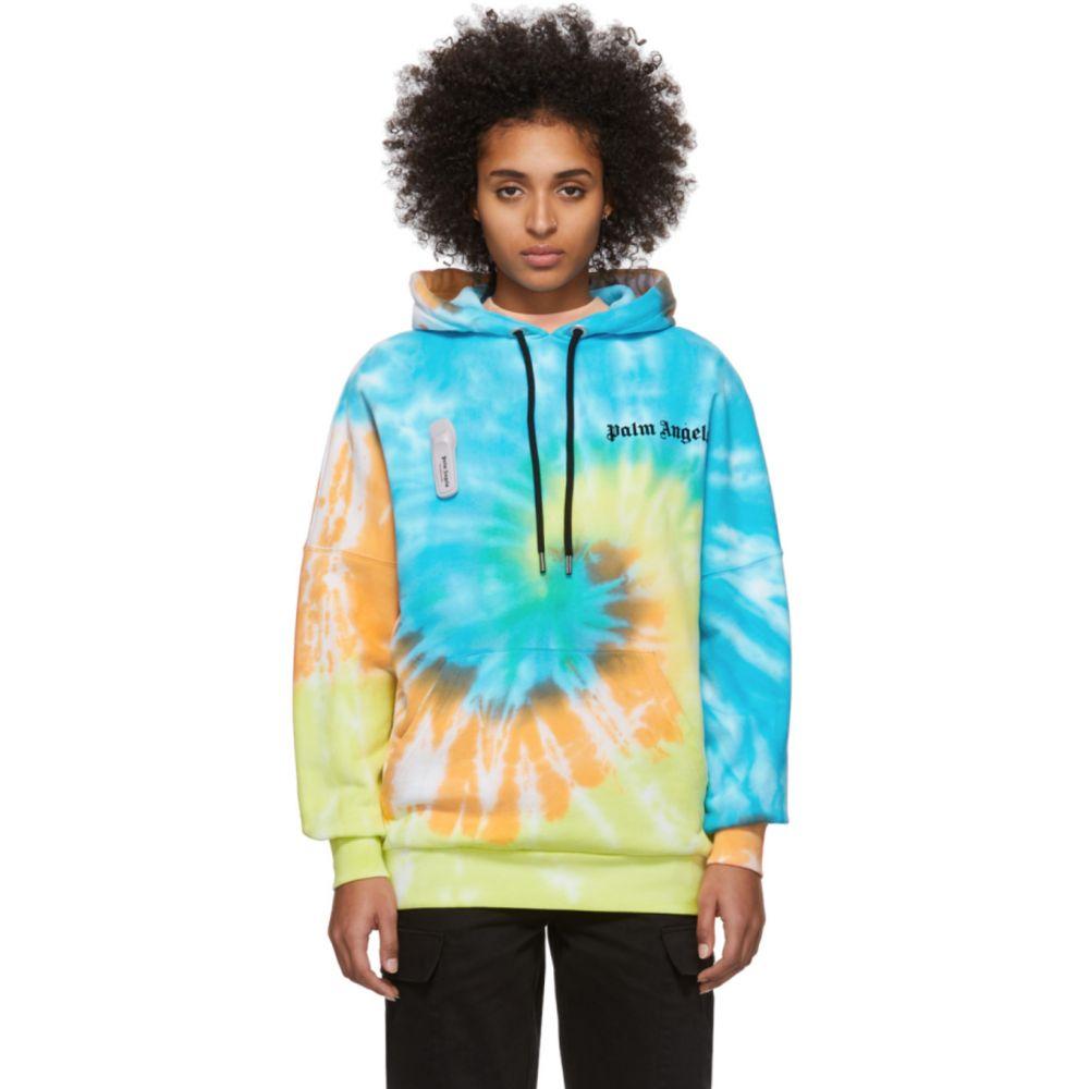 パーム エンジェルス Palm Angels レディース パーカー トップス【Multicolor Tie-Dye New Basic Hoodie】Multicolor