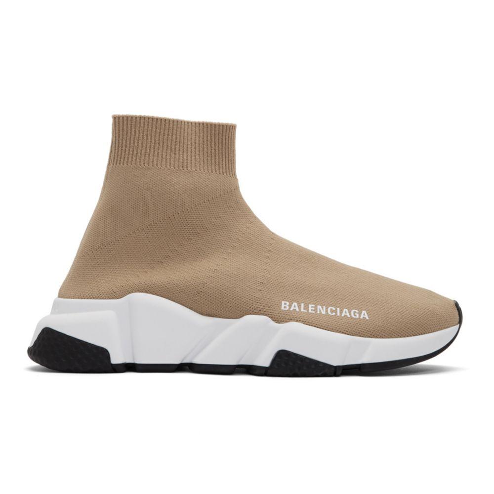 バレンシアガ Balenciaga レディース スニーカー シューズ・靴【Beige Speed Sneakers】Beige