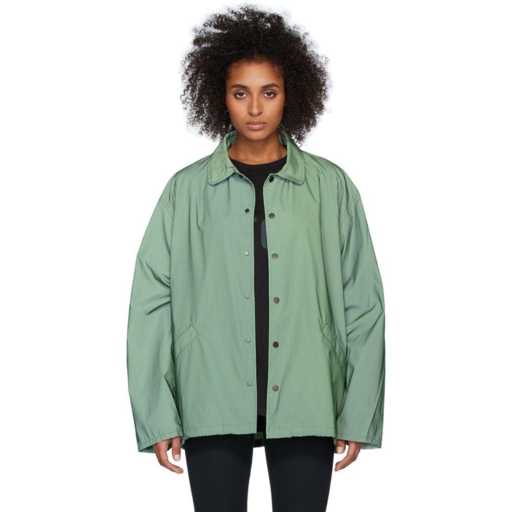 フィアオブゴッド Fear of God レディース ジャケット コーチジャケット アウター【Green 'Sixth Collection' Coaches Jacket】Army iridescent