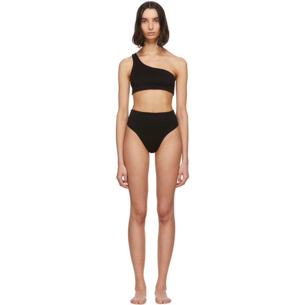 ヘイト Haight レディース 上下セット 水着・ビーチウェア【Black Crepe Perlin Bikini】Black