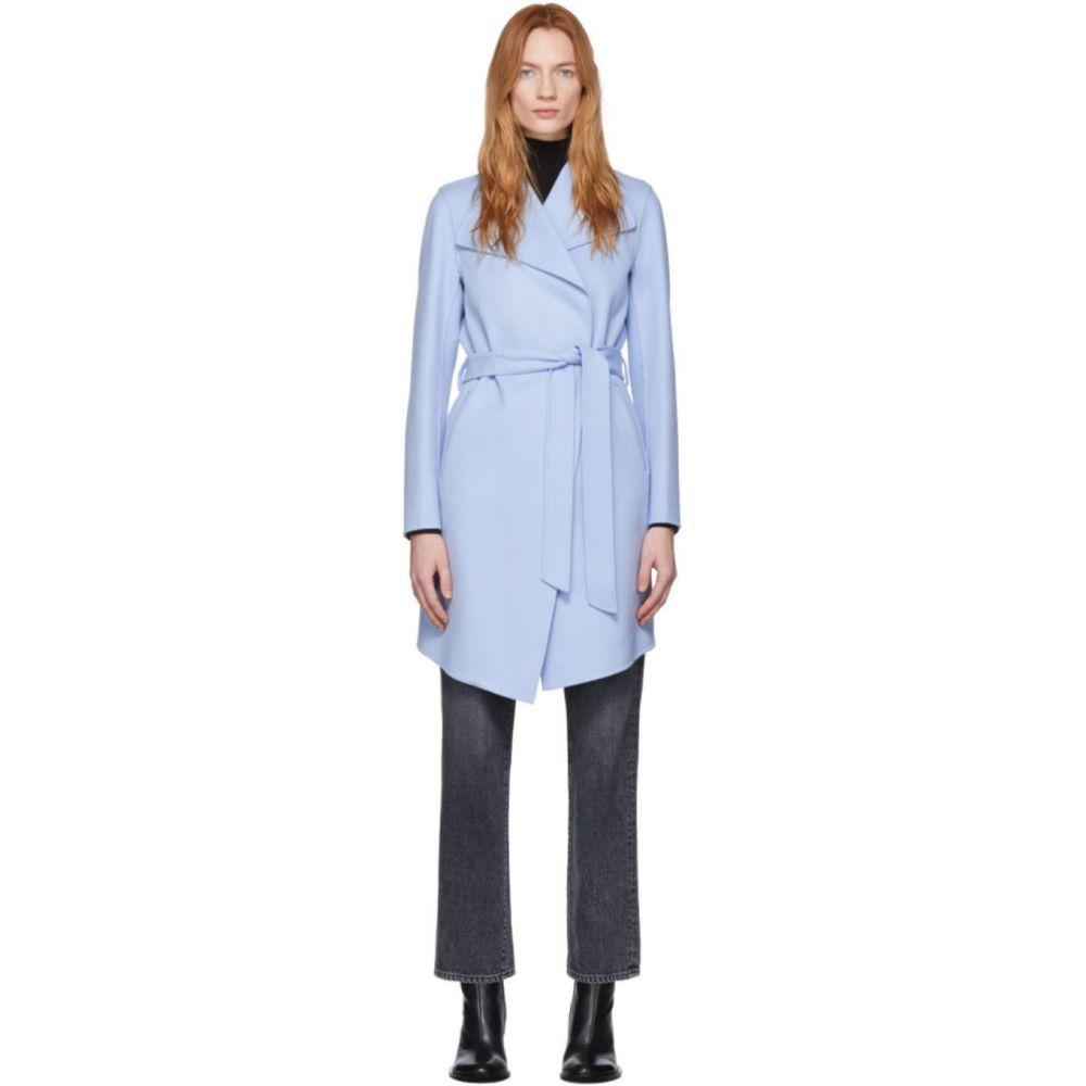 マッカージュ Mackage レディース コート アウター【Blue Wool Laila Coat】Sky blue