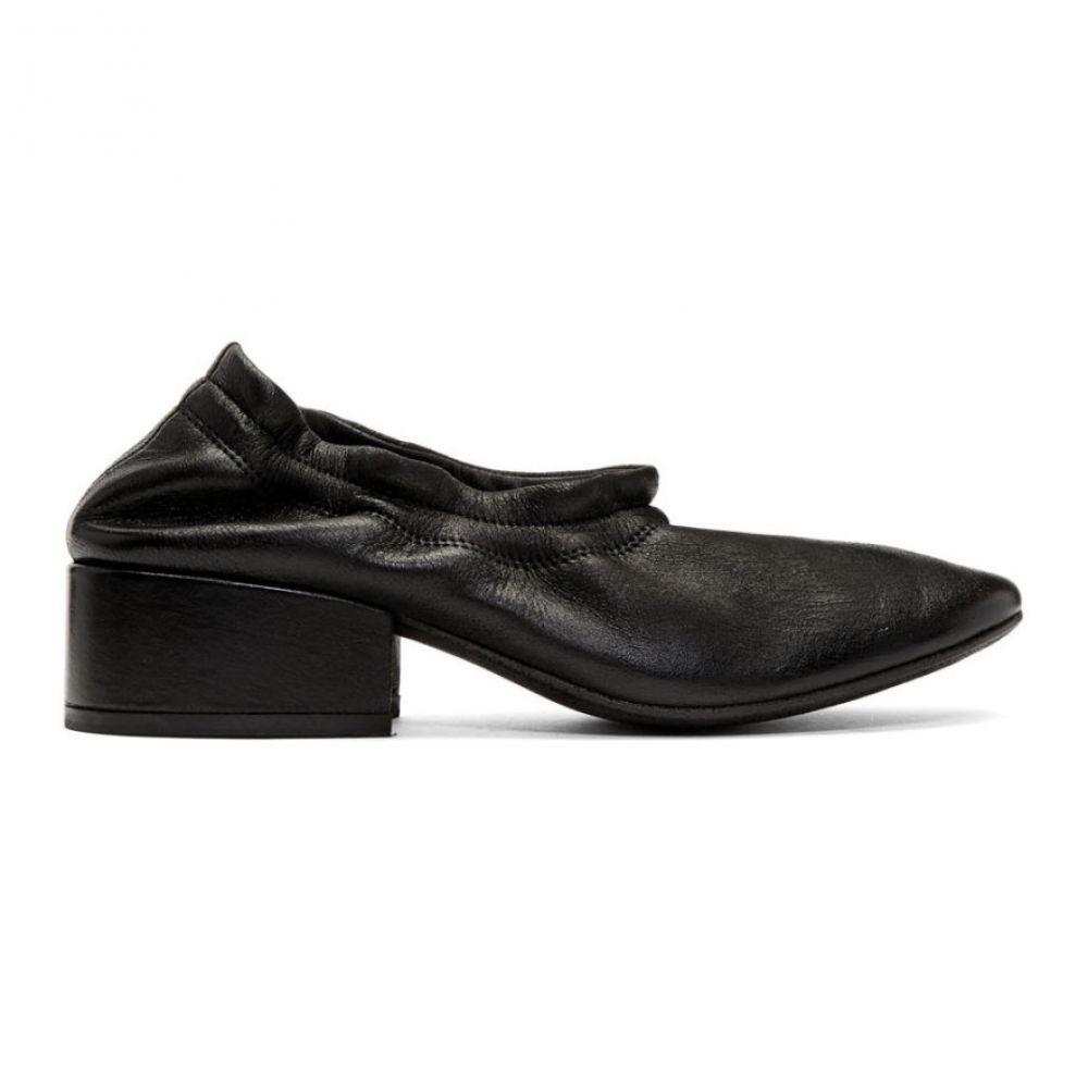マルセル Marsell レディース ヒール シューズ・靴【Black Cubo Decollete Elastico Heels】