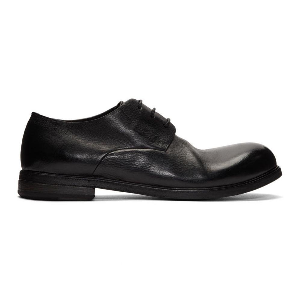 マルセル Marsell メンズ 革靴・ビジネスシューズ シューズ・靴【Black Zucca Media Derbys】Black