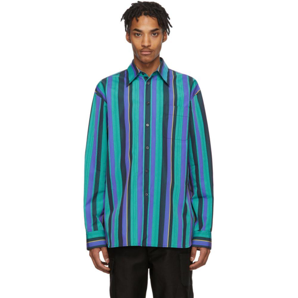 マルニ Marni メンズ シャツ トップス【Multicolor Poplin Striped Shirt】Multi