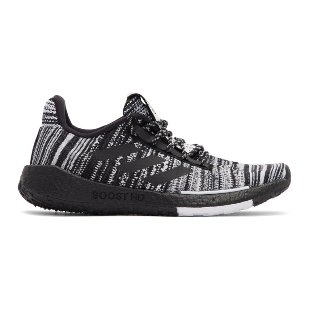 アディダス adidas x Missoni レディース スニーカー シューズ・靴【Black & White PulseBOOST HD Sneakers】Black