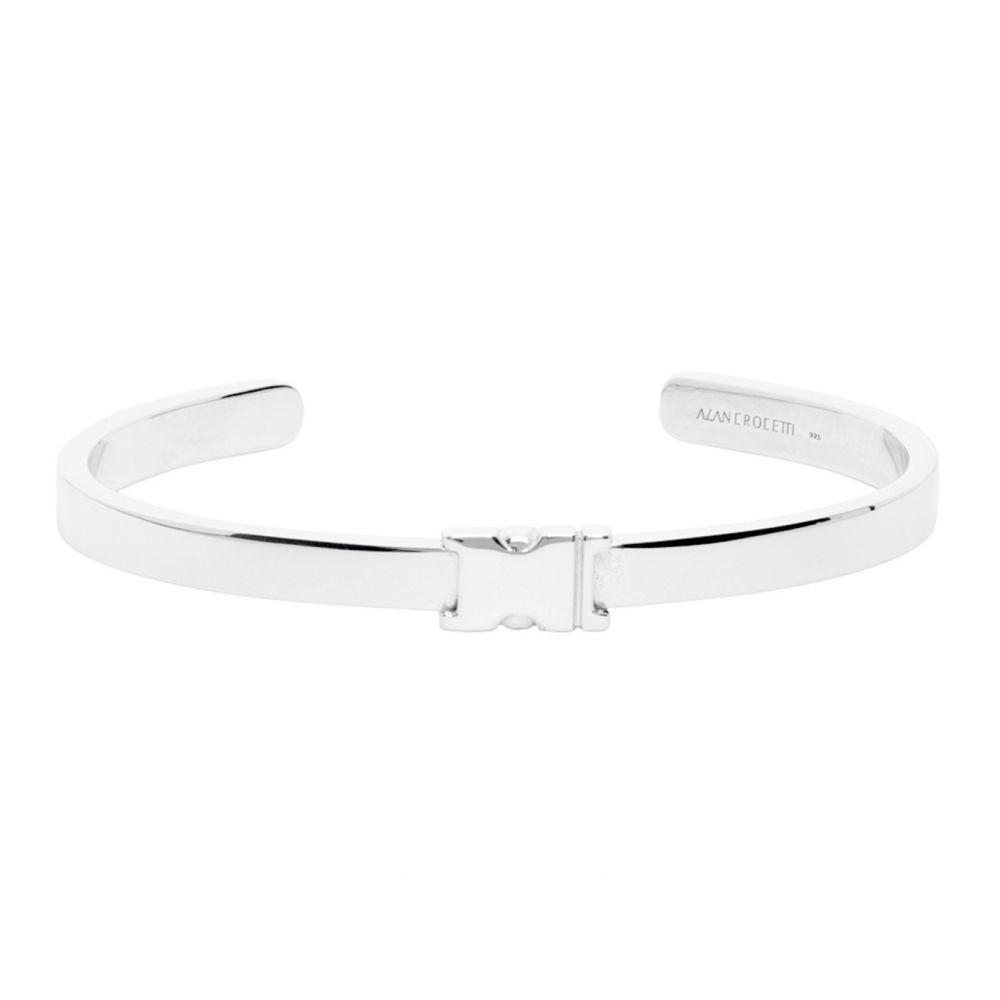 アラン クロセッティ Alan Crocetti メンズ ブレスレット ジュエリー・アクセサリー【Silver Unity Bracelet】Silver