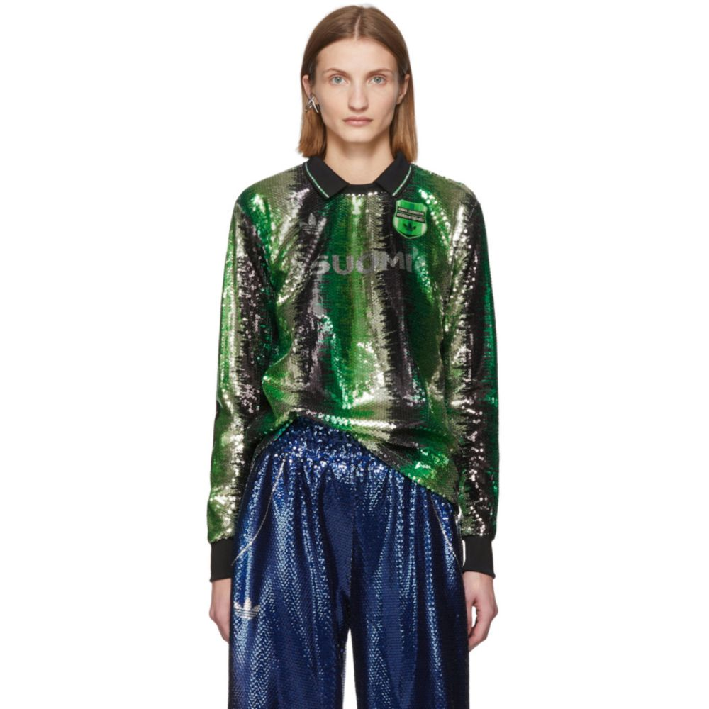 アディダス adidas Originals レディース ポロシャツ トップス【Green Anna Isoniemi Edition Football Jersey Polo】Mist jade