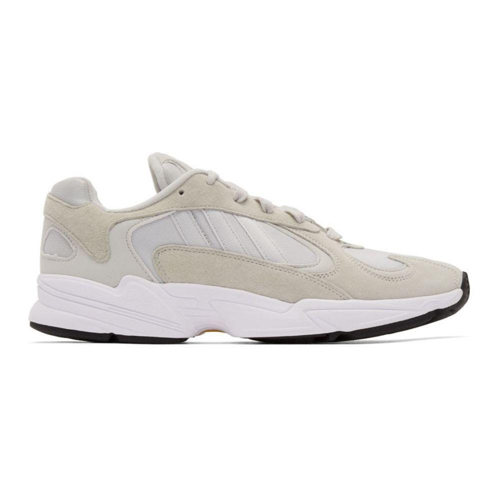 アディダス adidas Originals レディース スニーカー シューズ・靴【Grey Yung-1 Sneakers】Grey