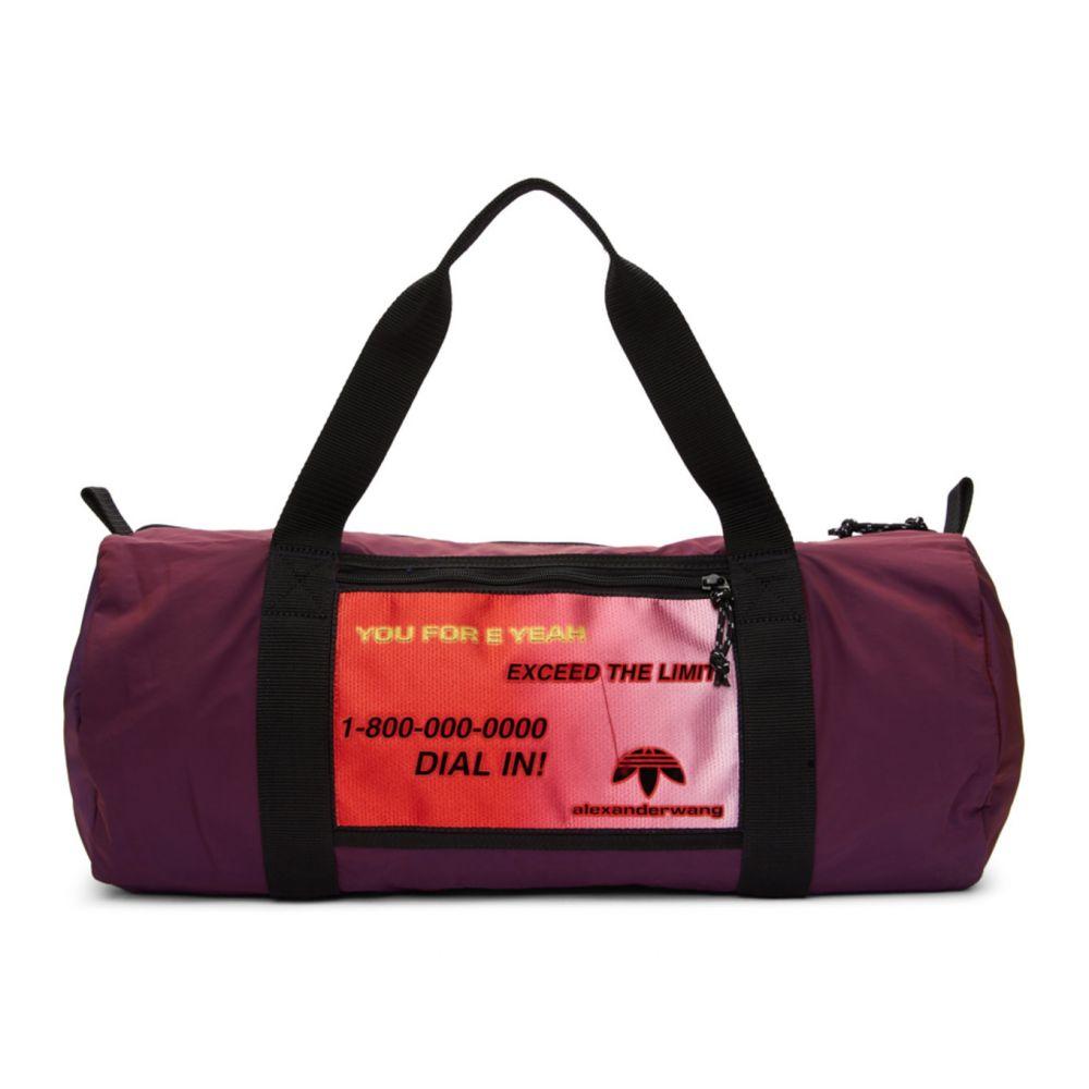 アディダス adidas Originals by Alexander Wang レディース ボストンバッグ・ダッフルバッグ バッグ【Purple Duffle Bag】Multicolor