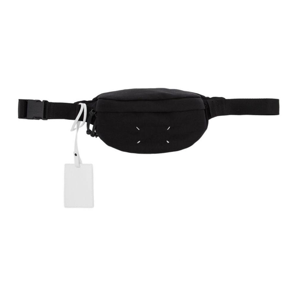 メゾン マルジェラ Maison Margiela メンズ ボディバッグ・ウエストポーチ バッグ【Black Canvas Bum Bag】Black