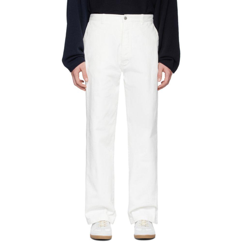 メゾン マルジェラ Maison Margiela メンズ ジーンズ・デニム ボトムス・パンツ【White Garment-Dye Jeans】Off white